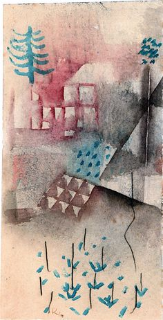 Paul Klee. Trees in the Garden