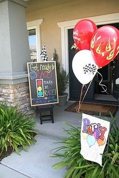 Hot Wheels/Race car themed birthday ideas.  Over.the.top!!!  Trevor's next b-day, maybe????