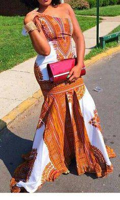 dashiki dress/african print dress by TMFashionaccessories on Etsy