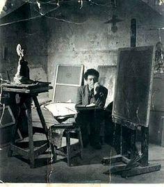Giacometti / artist studio