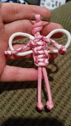Angel Paracord Keychain