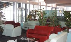 The Salon Riviera Lounge at France Nice - Côte D Azur Terminal 1