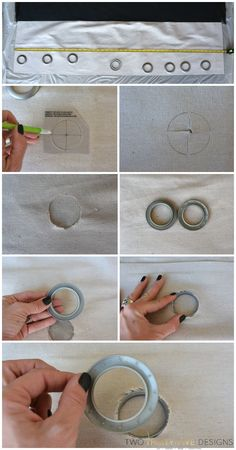 Easy How-To Install Grommets