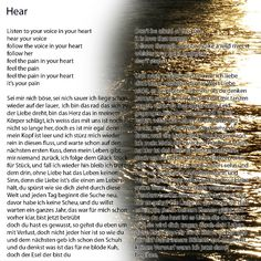 Lamia clara & Mr. Soulboater - Sounds pb Soulboating Productions #lyrics #songtexte Your Voice, Listening To You, Lyrics, Feelings, Digital, Song Lyrics, Verses, Music Lyrics