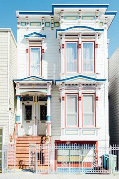 Rainbow House, San Francisco xo