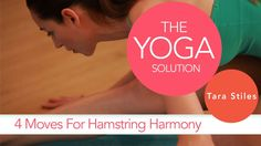 4 Moves for Hamstring Harmony | The Yoga Solution With Tara Stiles (+pla...