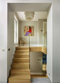 Inset stairs