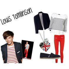 Louis Tomlinson outfit, created by beachygurl27 on Polyvore