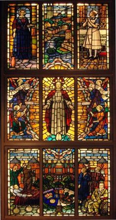 Florence Nightingale Window at St. Peter's, Derby