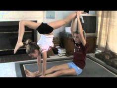 Two Person Acro Stunts 2