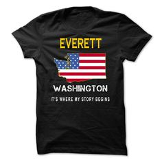 (Tshirt Most Gift) EVERETT Its Where My Story Begins Discount Codes Hoodies, Funny Tee Shirts