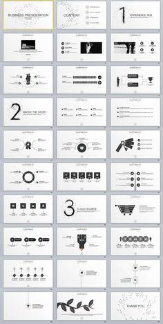 30 gray business Report PowerPoint templates Source by - Powerpoint Design Templates, Ppt Design, Keynote Template, Slide Design, Brochure Design, Flyer Template, Presentation Layout, Business Presentation, Power Point Presentation