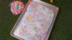 We Turned Pinterest's Favorite No-Bake Treat Into a Magical Easter Dessert