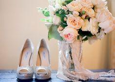 Atractivos diseños de zapatos de novia baratos | Fotos de zapatos de bodas online