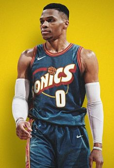 quality design aa31a f074f russell westbrook supersonics jersey
