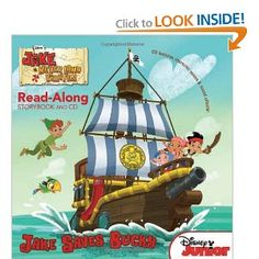 Reviews: Jake and the Never Land Pirates Read-Along Storybook and ...