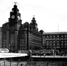 Royal Liver Buildings 40s and 50s