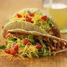 Vegetarian Meatless Tacos
