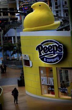 Wahooooo! Peeps the latest brand to use Mall of America as retail lab