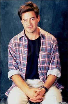 robert downey jr photo: Robert Downey Jr. checkeredshirt.jpg