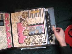 Tutorial for 11x11 Scrapbook Not-So-Mini Album (Now Available)