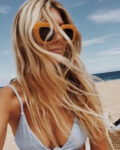Think Your Hair Can't Be Tamed? Think Again! Everyone wants to have great looking hair, as a good set of locks can completely transform a person's appearance. The Bikini, Bikini Girls, Hair Inspo, Hair Inspiration, Good Hair Day, Beach Hair, Beach Blonde, Summer Of Love, Summer Beach