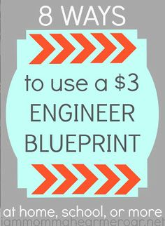 I Am Momma - Hear Me Roar: 5 Ways to Use an Engineer Blueprint Decorating Tips, Decorating Your Home, Diy Home Decor, Photo Projects, Crafty Projects, Creative Crafts, Fun Crafts, Decor Crafts, Creative Ideas