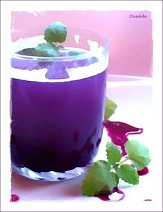 Szellem a fazékban: Kékszőlőszörp