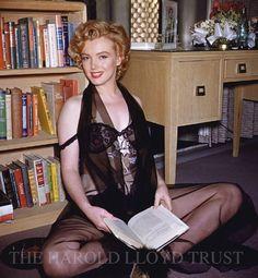 Marilyn fotografiada por Harold Lloyd.