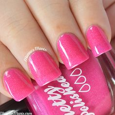 Pretty & Polished-I Never Kiss and Spell #nails #notd