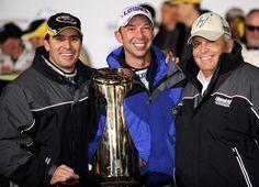 In This Photo: Jimmie Johnson , Chad Knaus , Rick Hendrick