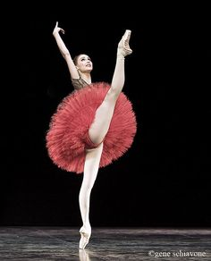 Svetlana Zakharova of The Bolshoi Ballet. Photo by Gene Schiavone