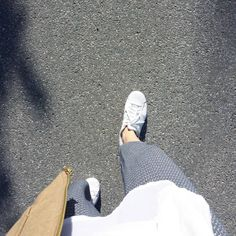 tifmys – Zara Culottes & Adidas Superstar sneakers.