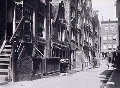 1902 Akoleienstraat, gezien vanaf Rozengracht naar Bloemstraat.