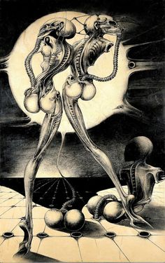 70sscifiart: HR Giger