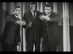 Five Satins ~In the Still of the Night~ This song was written in the basement of a Church in 1955 by Fred Parris. This is Doo-whop people. Love it!
