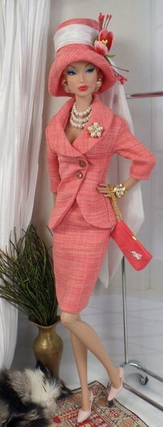 Coral Bells for Silkstone Barbie and Victoire by MatisseFashions