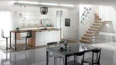 Kitchens MOBALPA Wimbledon: Open hours and informations of your kitchen store: a large choice of models and finishes at the best price Small Modern Kitchens, Hygge Home, Kitchen Gallery, Kitchen Models, Bespoke Kitchens, Kitchen Store, Cuisines Design, Wood Veneer, Kitchen Furniture