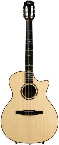 Taylor 814ce-N. Acoustic-Electric Nylon String Guitar with Taylor ES-N Electronics. Street Price: $3499. For a detailed guide to Nylon String Guitars see https://www.gearank.com/guides/nylon-string-guitar