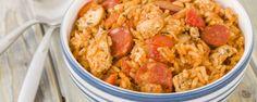 Le Risotto n'est plus à décrire, son riz crémeux lui donnant toute son authenticité. Le Jambalaya, lui, nous vient de la Nouvelle Orléans et est fortement