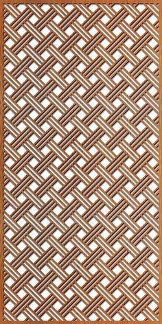 Open Basketweave rendering at 4 ft. x 8 ft. Laser Cut Patterns, Stencil Patterns, Block Patterns, Steel Gate Design, Front Gate Design, Laser Cut Screens, Laser Cut Panels, Jaali Design, Cnc Cutting Design