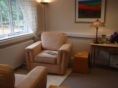 Our counselling room at Rumwell Hall