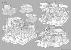 Feng Zhu Design: FZD Students Term 2 RTS/RPG Tiles