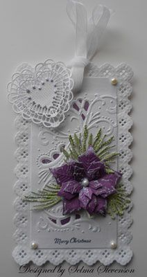 christmas gift tag - selma's stamping corner
