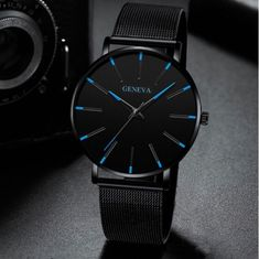 Watch Men Watch 2019 Ultra-Thin Business Men Watches Quartz Stainless Steel  Band Simple Wrist Watch