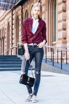 By Sergey Sheluhin 2012 Denim Fashion, Fashion Models, Girl Fashion, Fashion Looks, Most Beautiful Women, Amazing Women, Nastya Kusakina, Style Stealer, Russian Models