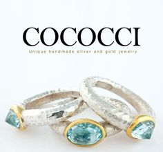 COCOCCI Luxury Jewelry #Handmade #Ring #Aquamarine #Gemstone Aquamarine Gemstone, Gemstone Rings, Luxury Jewelry, Gold Jewelry, Handmade Silver, Gemstones, Lifestyle, Beautiful, Gems