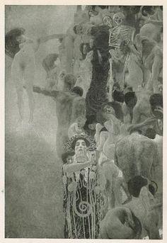 """Gustav Klimt, """"Die Medicin"""", Ver Sacrum 1901 Heft 6"""