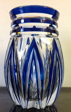 Vase Art Déco ADP8, Joseph Simon du Val Saint Lambert