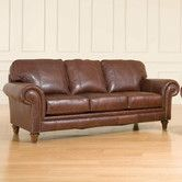 This comes in off White if that would be more practical?Found it at Wayfair - Bromley Leather Sofa